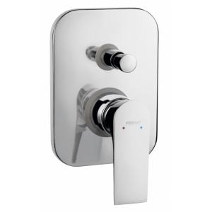 MIXING TAPS, WALL MIXER FOR SHOWER <br>ALGEO SQUARE BAQ7P